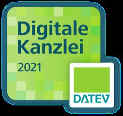 Logo Digitale Kanzlei 2021, DATEV
